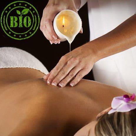 Cire bio européenne pour bougies coulées et massage